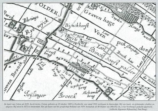 Landkarte - Nieuwenbroek