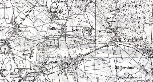 Landkarte - 1937