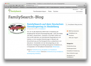 FamilySearch Blog