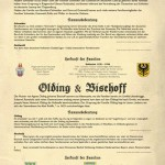 Familienforschung Schneider & Olding